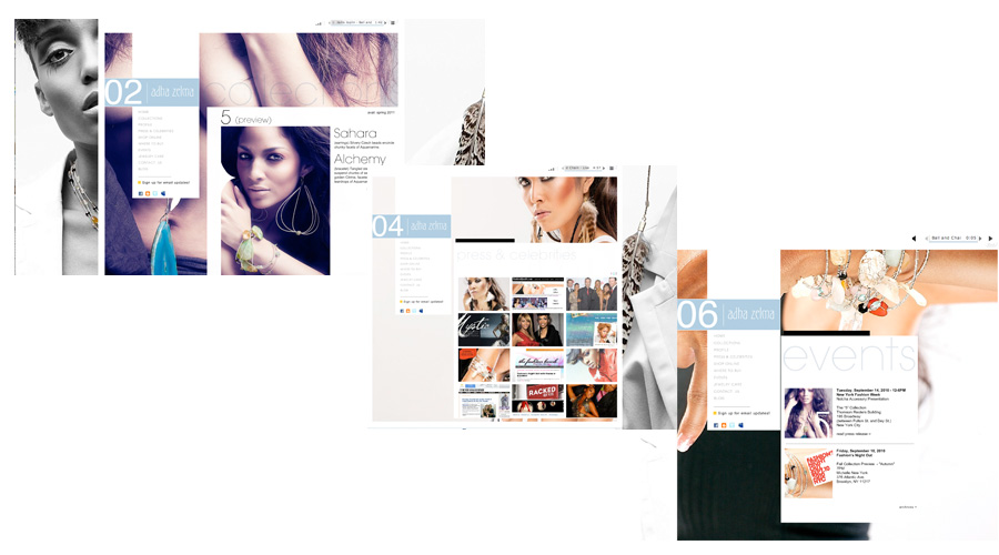 Adha Zelma Internal Pages