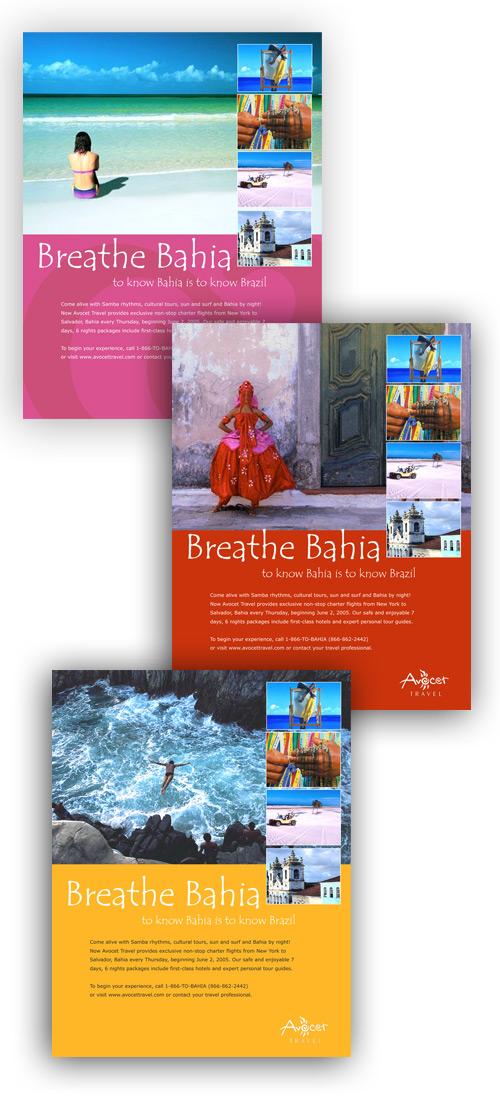 Avocet Travel Ads - Breath Bahia