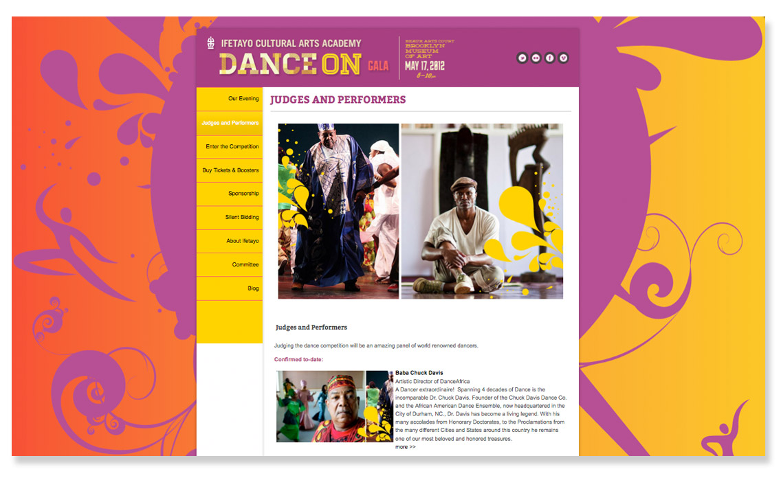 Dance_On Website