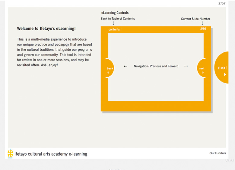 Ifetayo E-Learning tool