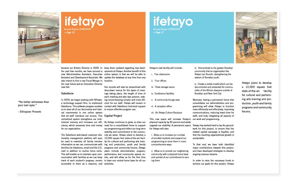 Ifetayo Annual Report