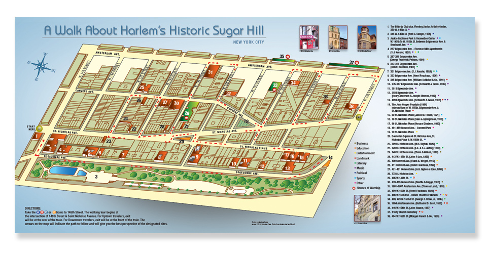 Sugar Hill Map